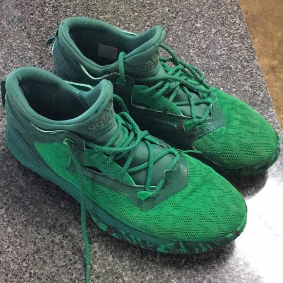 buy online 5ecf5 b7468 adidas Other - Green Damian Lillard Adidas Sneakers